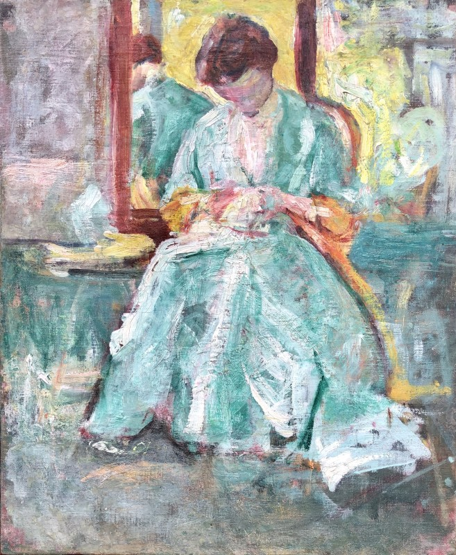 Margaret Morris (1891-1980)Interior, c. 1910