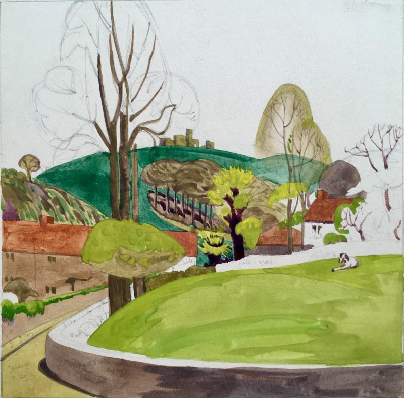 Doris Hatt (1890-1969)Clevedon Landscape, c. 1920's