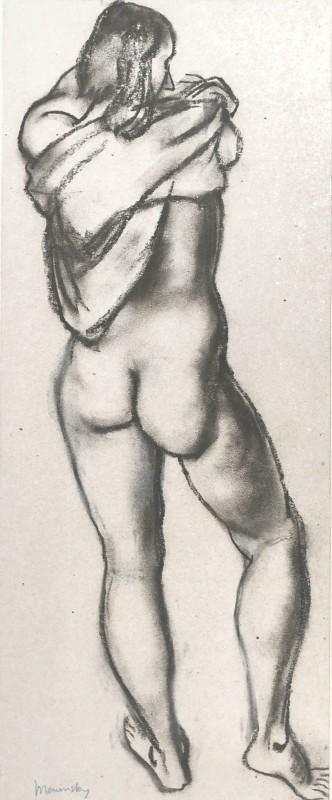 Bernard Meninsky (1891-1950)Standing Female Nude, 1928