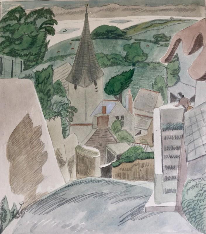 Doris Hatt, Slapton, Devon, 1948