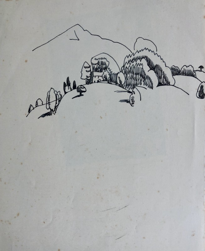 Doris Hatt (1890-1969)Hillside, 1920's