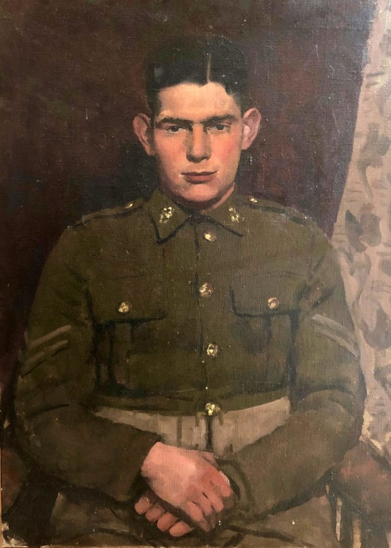 Gordon Scott (1914-2016)Bulford Camp Corporal, 1942