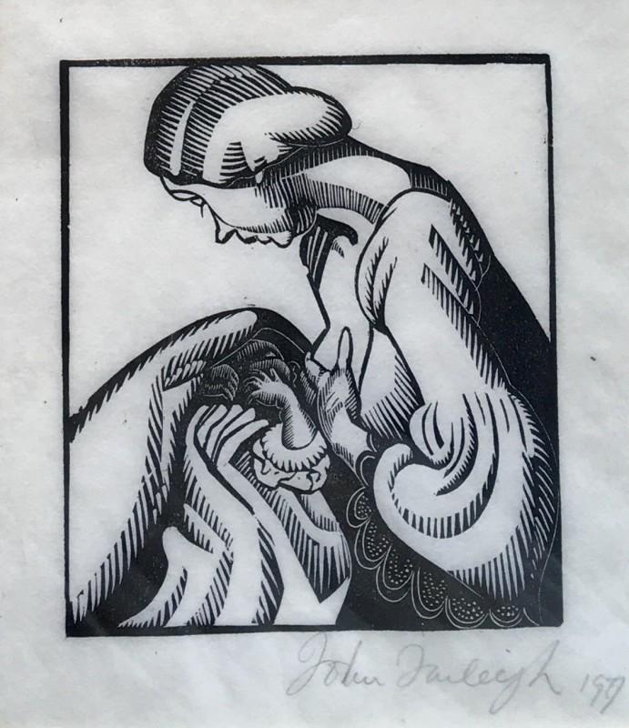 John Farleigh (1900-1965)Mother and Child, 1927