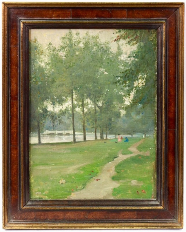 Maxwell Ashby Armfield (1881-1972)Hyde Park, 1905