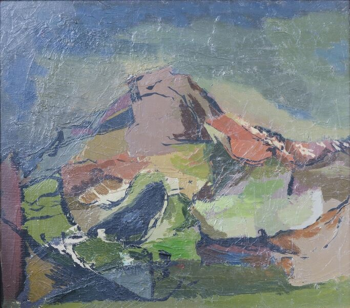 Kenneth Lauder (1916-2004)Mountain, Isle of Man, 1948
