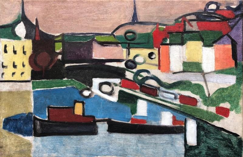 Rupert Lee (1887-1959)The Port, 1919