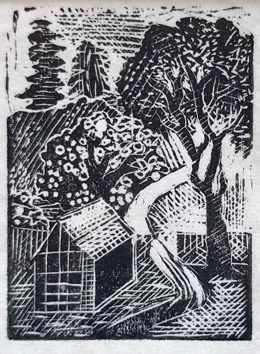 Michael Canney (1923-1999)The Greenhouse, c. 1947