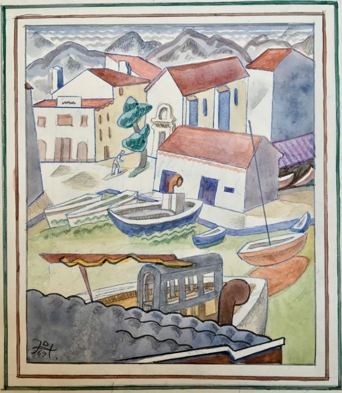 Doris Hatt (1890-1969)St. Tropez, 1969