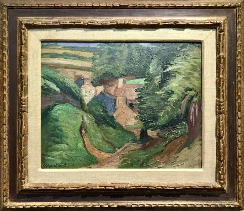 Jean Marchand (1883-1940)Village, c. 1919