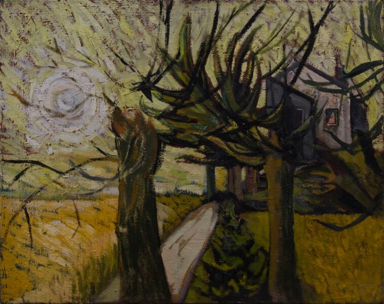 Kenneth Lauder (1916-2004)Willow Lane, 1950