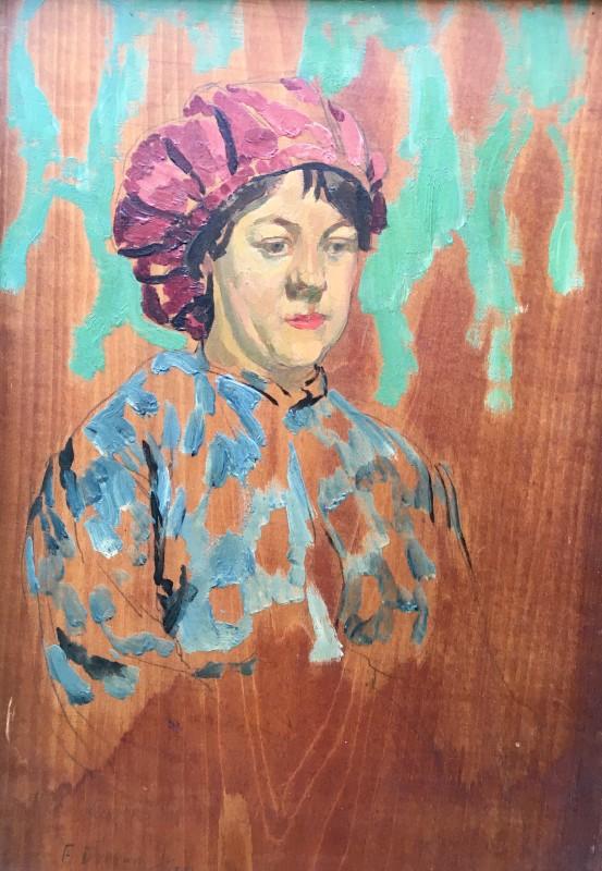 Frank Dobson (1888-1963)Catherine - A Newlyn Girl, 1914