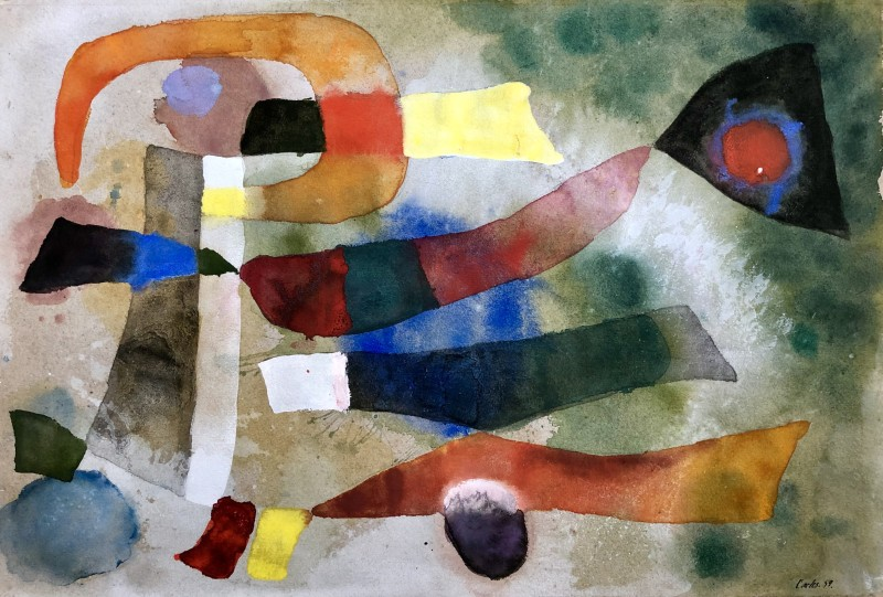 Carlos Carnero (1922-1980)Compostion lyrique II, 1959