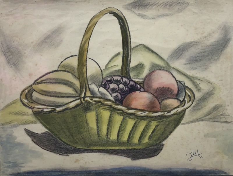 Doris Hatt, Basket of Fruit, c. 1940s