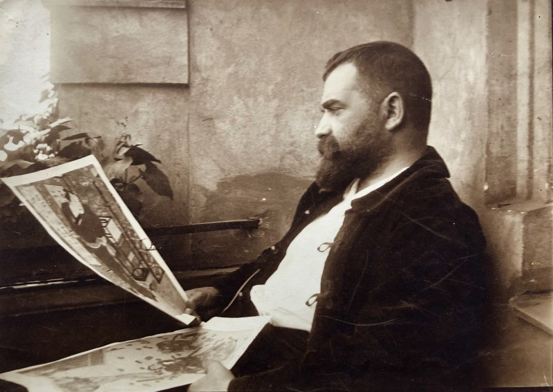 EMIL MAETZEL (1877-1955)SELF PORTRAIT, 1912
