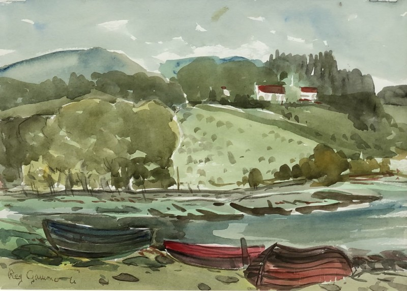 Reg Gammon (1894-1997)West Country Landscape