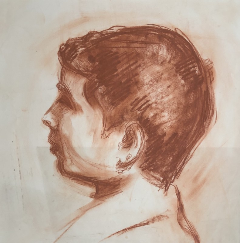 Kurt Badt (1890-1973) Study of a Boy, c. 1910