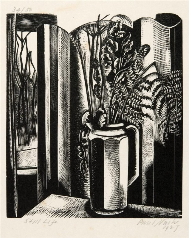 Paul Nash (1889-1946)Still Life II, 1927