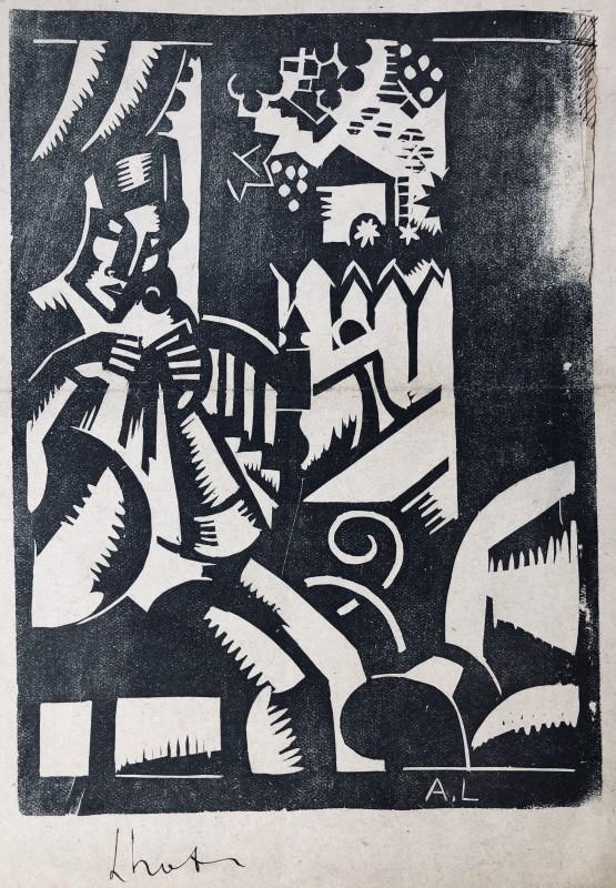 André Lhote, Interior, c. 1914