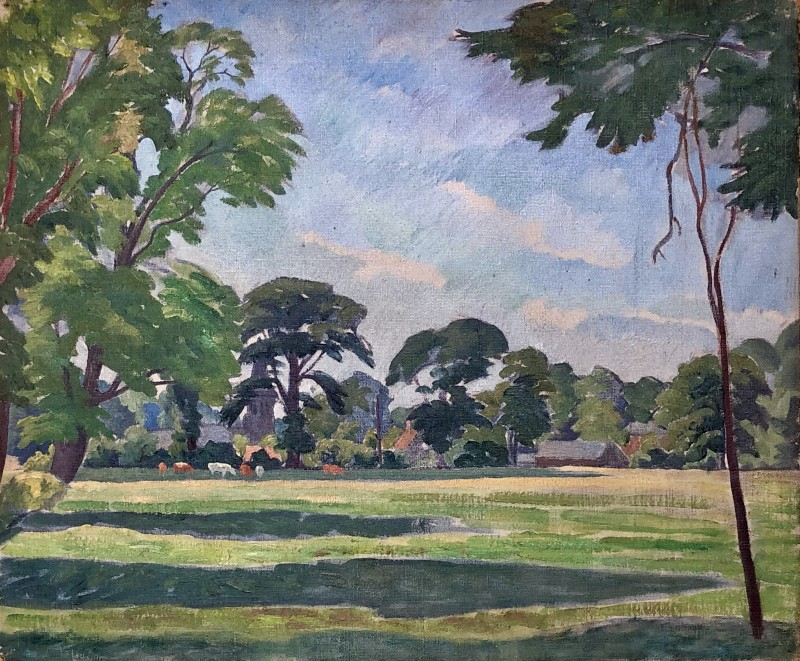 Ethelbert White, Summer Landscape, Sussex, c. 1935
