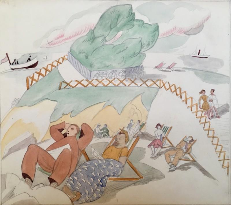 Doris Hatt (1890-1969)Clevedon , 1948