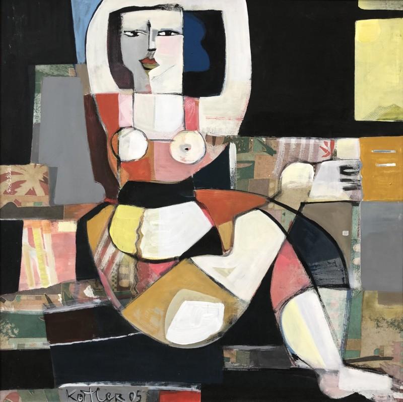 Klara Koitler (b. 1954)Figure with Arms Raised