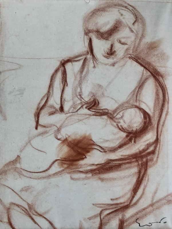 Othon Friesz, Mother and Child, c. 1925