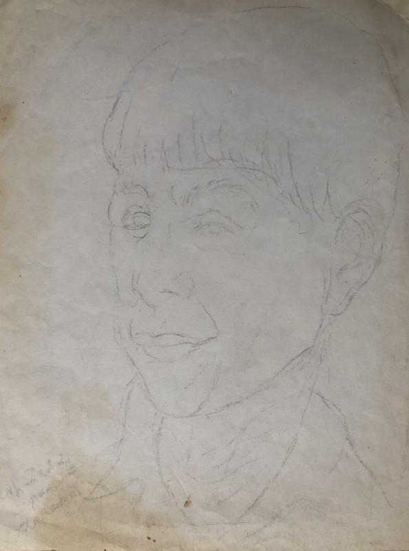 Marie Marevna (1892-1984)Portrait of Ossip Zadkine, c. 1920s