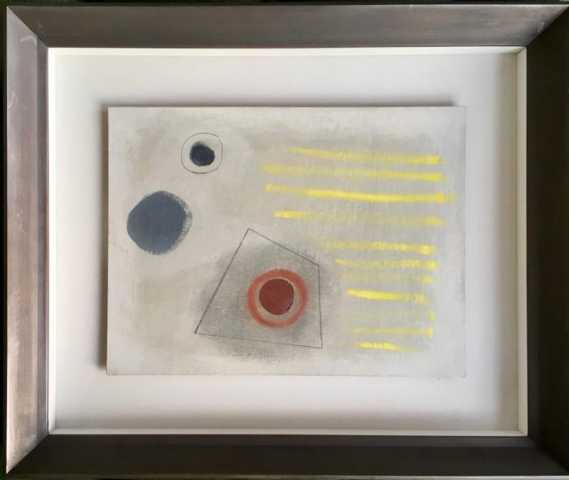 John Wells (1907-2000) Sennen Painting, 1968