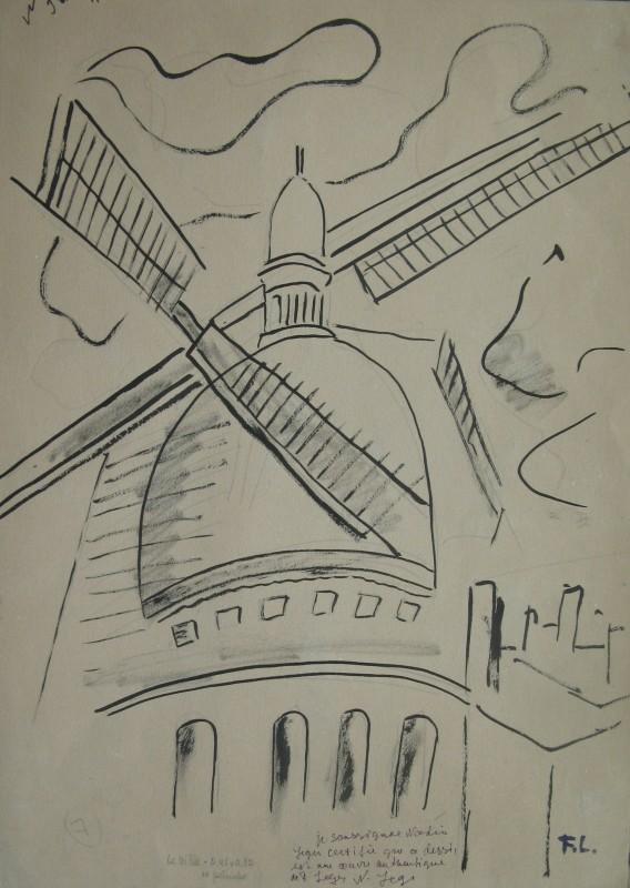 FERNAND LÉGER (1881-1955)  Etude pour 'La Ville', 1919
