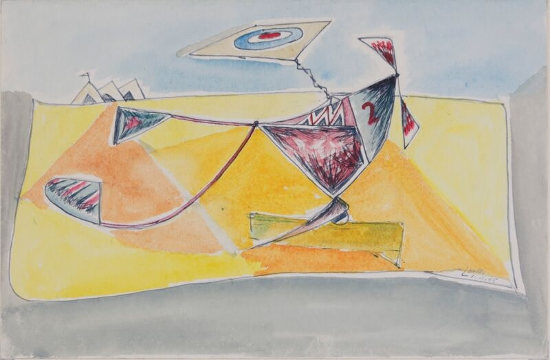Kenneth Lauder (1916-2004)Flight Vehicle 5, 1945