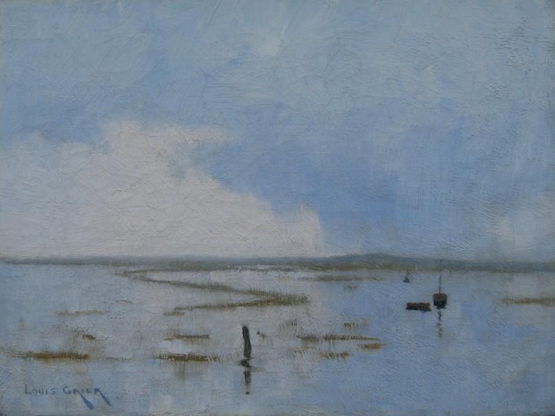 Louis Grier (1864-1920)Hayle Estuary, c. 1905