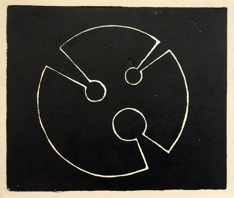 Denis Mitchell, Design for Sculpture III, c. 1970's