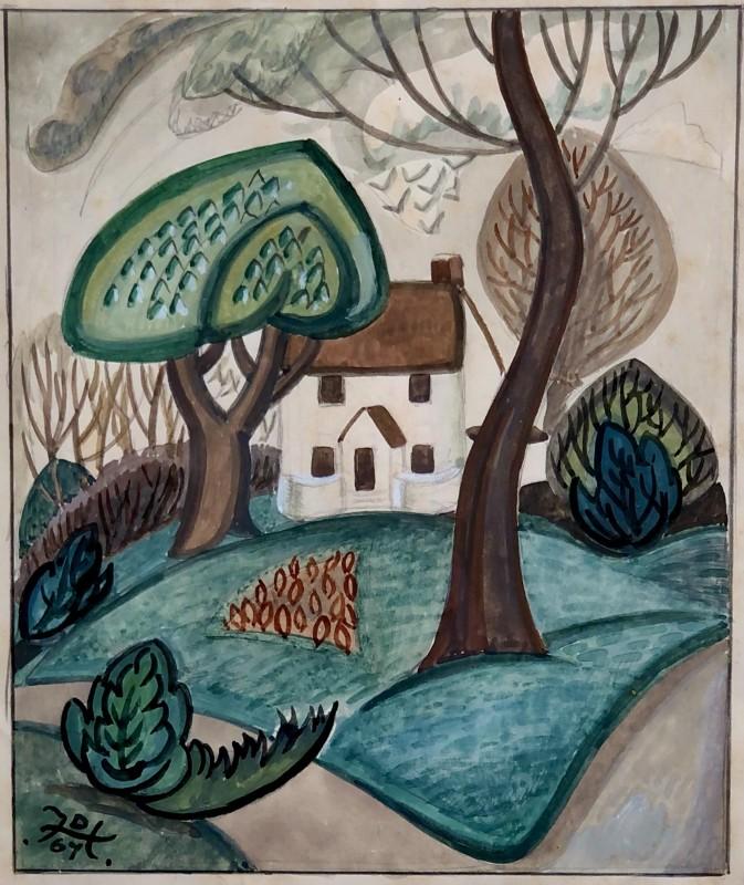 Doris Hatt (1890-1969)The White House, Failand, 1967