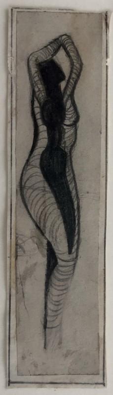 Cuthbert Hamilton (1885-1959)Nude with Arms Raised, c. 1915