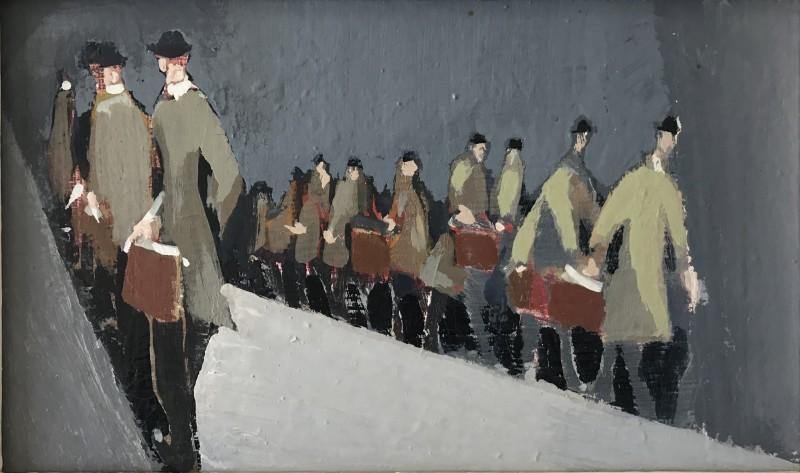 George Lambourn (1900-1977)Commuters, c. 1929