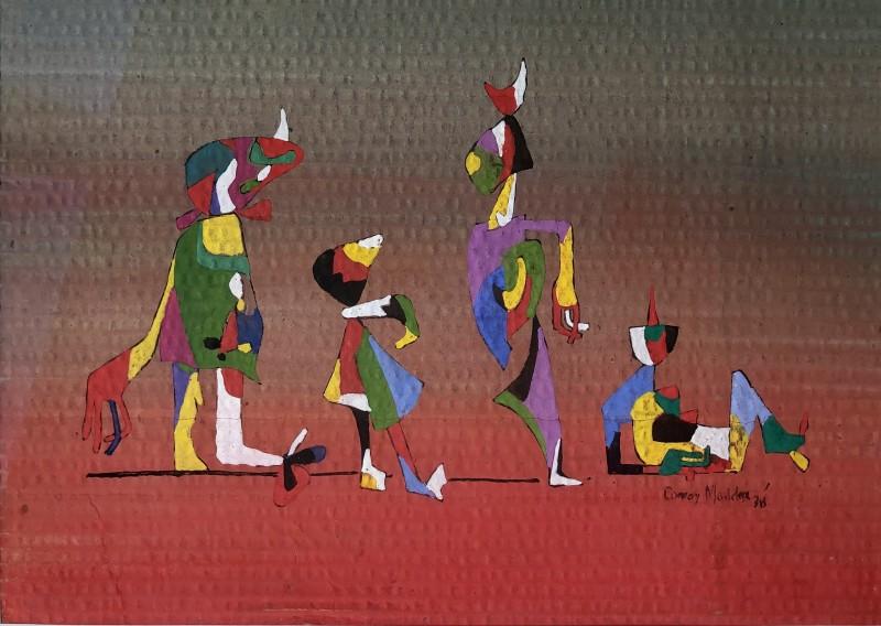 Conroy Maddox (1912-2005)Dancing Figures, 1938
