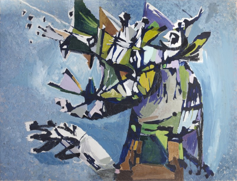 Kenneth Lauder (1916-2004)Beast in Fury, 1957