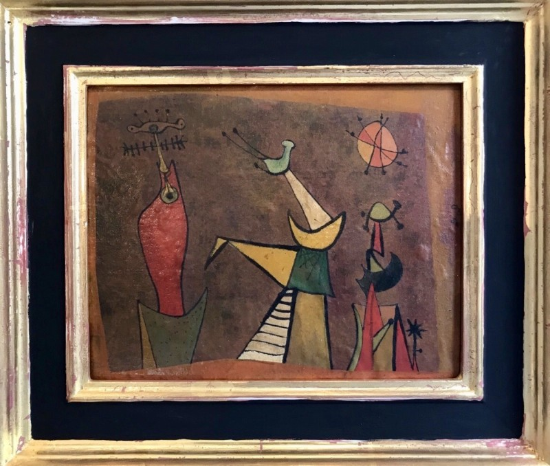 Desmond Morris (b. 1928)About to Begin, 1950