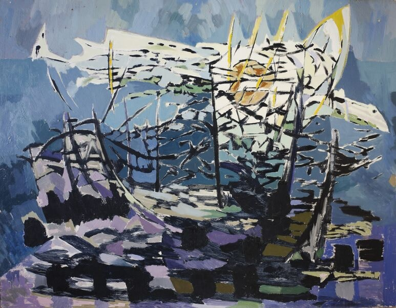 Kenneth Lauder (1916-2004)Full Fathom Five, 1957