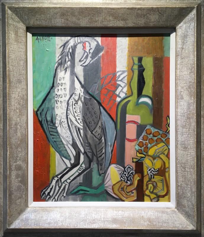 André Lhote (1885-1972)Nature morte à la pintade, 1952