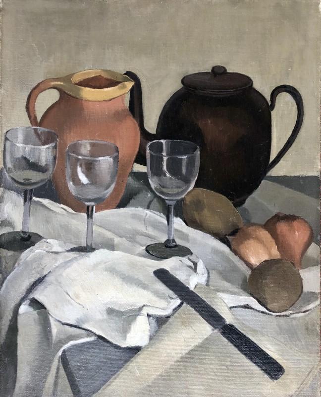 Dorothy Hepworth, still Life with Tea Pot, 1924