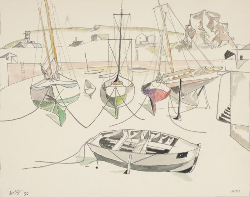 Walter Nessler (1912-2001)Jersey, 1950