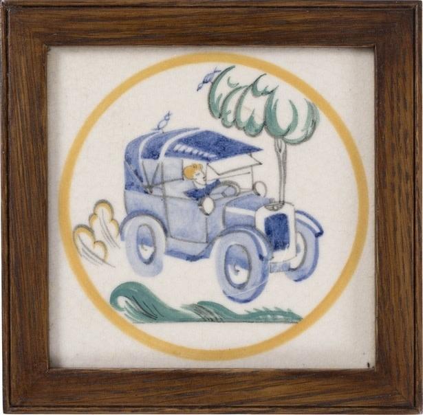 EDWARD BAWDEN (1903-1989)  MOTORING
