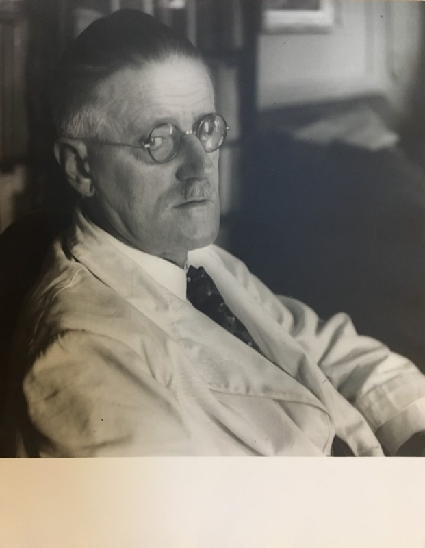 JOSEF BREITENBACH (1896-1984)  PORTRAIT OF JAMES JOYCE 1937  SOLD
