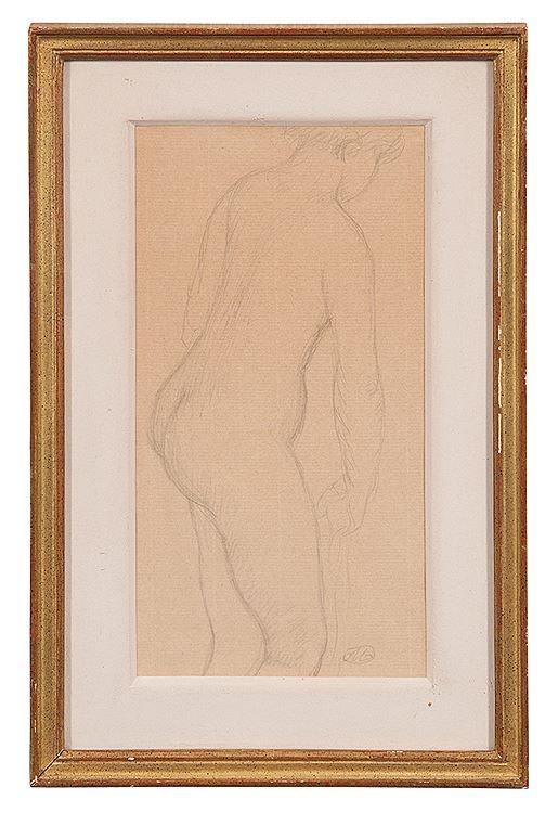 ARISTIDE MAILLOL (1861–1944)  STANDING NUDE