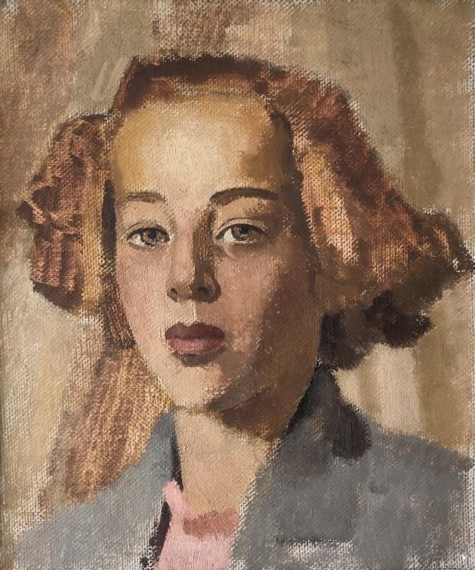 Neville Lewis (1895-1972)Portrait Study (Etude 4), c. 1930s