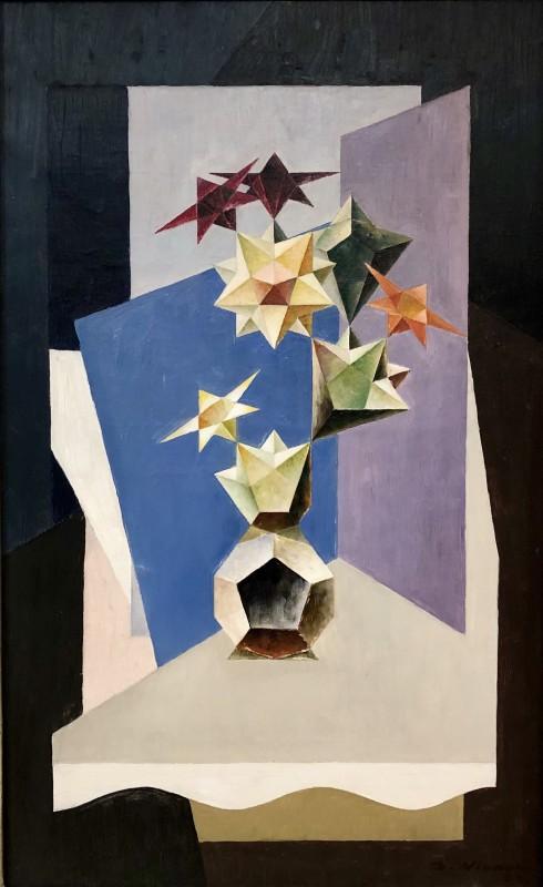 Dmitry Weiner - Cubist Still Life - 1928