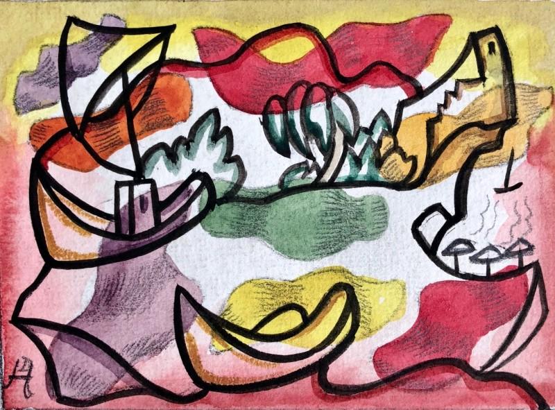 Doris Hatt: Works on Paper