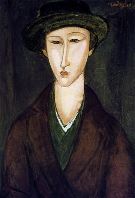 Portrait of Marevna, 1919 by Amedeo Modigliani