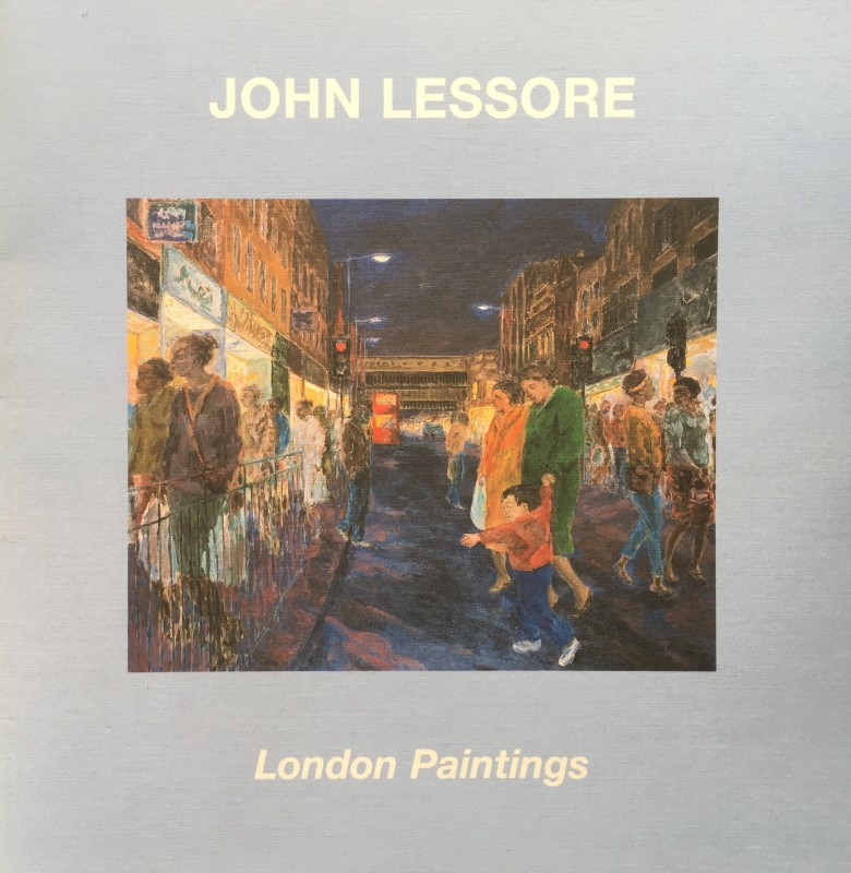 John Lessore London Paintings